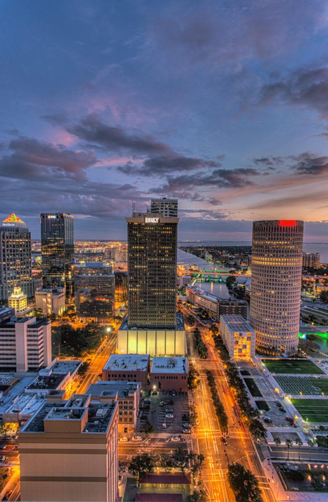 Tampa sky line - Tampa, FL